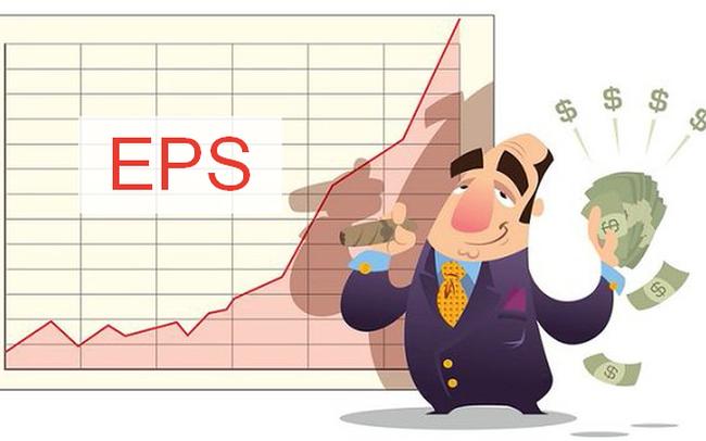 Các cổ phiếu có EPS trên 10.000 đồng: Bất ngờ nhiều mã chỉ có PE từ 3-6 lần