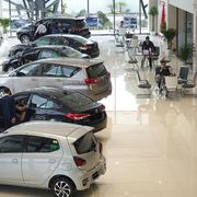 Hết ưu đãi phí trước bạ, thị trường ôtô sụt giảm mạnh tháng 1/2021