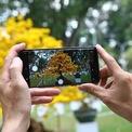 <p> Cây mai cổ thụ có sức hút mạnh mẽ tại hội hoa xuân, nhiều người không ngừng tạo dáng, chụp hình để ghi lại những khoảnh khắc đẹp mỗi năm chỉ có một lần.</p>