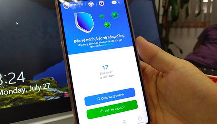 Thuê bao di động truy cập Bluezone được miễn cước data