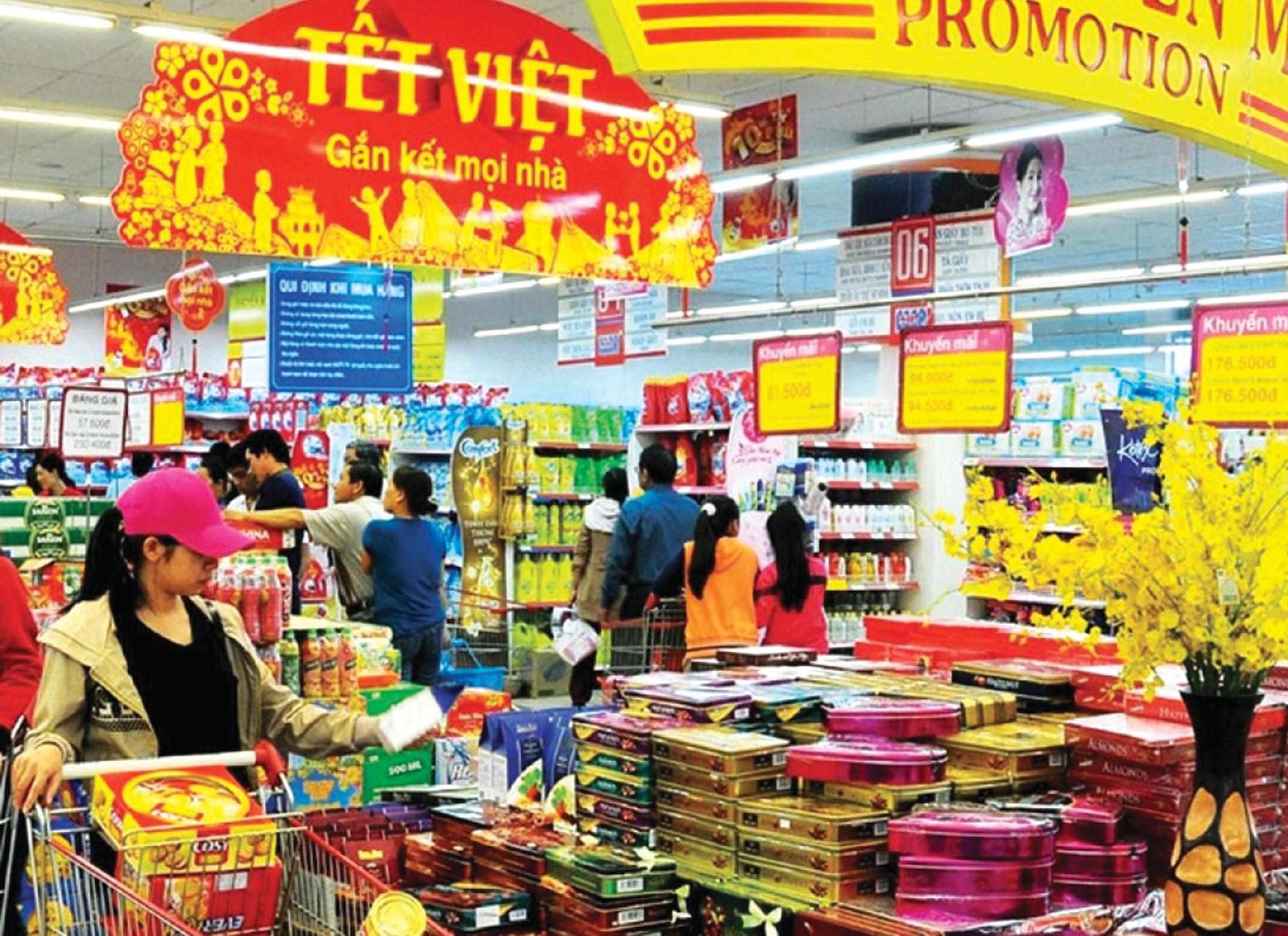 Sức mua tăng, giá cả hàng hóa Tết không có biến động đột biến