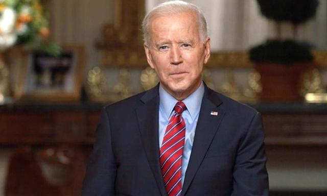 Tổng thống Mỹ Joe Biden trong cuộc phỏng vấn hôm 7/2. Ảnh: CBS.