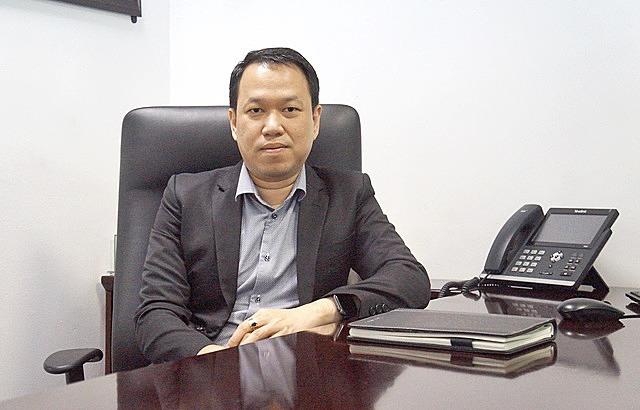 Ông Kim Thiên Quang, Tổng giám đốc Công ty chứng khoán Maybank Kim Eng