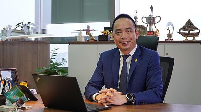 Ông Đỗ Ngọc Quỳnh Q.Tổng giám đốc Công ty CP chứng khoán VNDIRECT