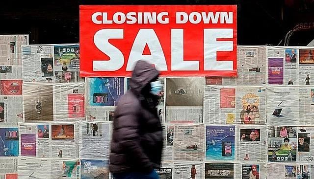 Kinh tế Anh suy giảm mạnh nhất hơn 300 năm