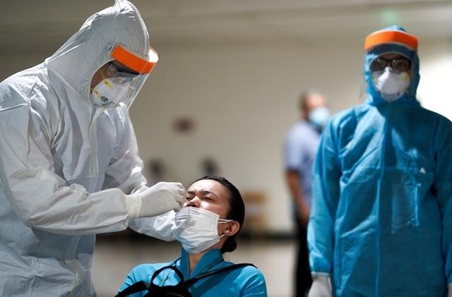 CDC Hà Nội thông báo tìm những người đã đến 7 địa điểm, trong đó có chuyến bay VN254 từ TP HCM ra Hà Nội ngày 1/2.