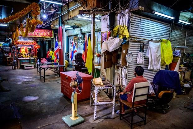Dịch COVID-19 vẫn đang khiến kinh tế Thái Lan đình trệ. (Ảnh: Asia Globe)
