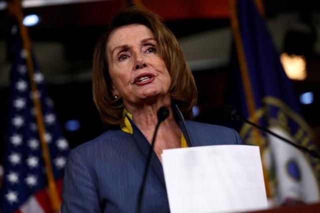 Chủ tịch Hạ viện Mỹ Nancy Pelosi. Ảnh: Reuters.