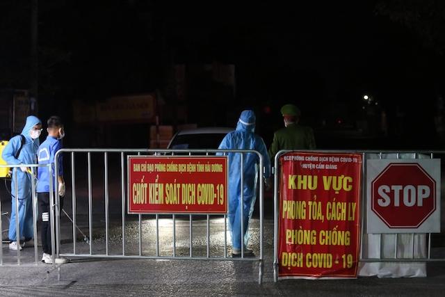 Hà Nội ghi nhận thêm 1 ca dương tính SARS-CoV-2 tại quận Cầu Giấy.