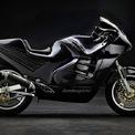<p> <strong>Lamborghini Design 90</strong>: Trước khi mua lại cổ phần của Ducati, Lamborghini từng manh nha tham gia vào thị trường siêu môtô. Với sự giúp đỡ của một công ty tên Boxer Bikes, hãng siêu xe Italy đã chế tạo một mẫu môtô mang tên Design 90 vào cuối thế kỷ 20. Với khung sườn làm từ nhôm và sợi thủy tinh, Lamborghini Design 90 có khối lượng khoảng 181 kg. Động cơ cung cấp bởi Kawasaki có công suất 130 mã lực. Dù vậy, mẫu môtô của Lamborghini bị khai tử khi chỉ có 6 chiếc được sản xuất.</p>