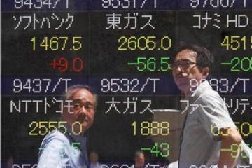Chứng khoán châu Á giảm theo giá dầu, Phố Wall
