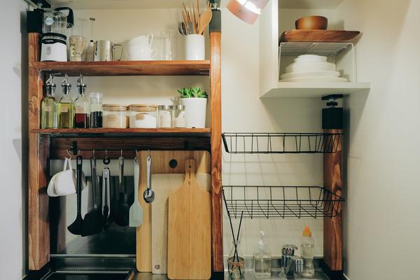 Căn bếp 0,6 m2 và cách thiết kế ấn tượng của nữ du học sinh Nhật