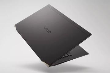Sony ra mắt laptop nhẹ nhất thế giới sử dụng chip Intel H-Series