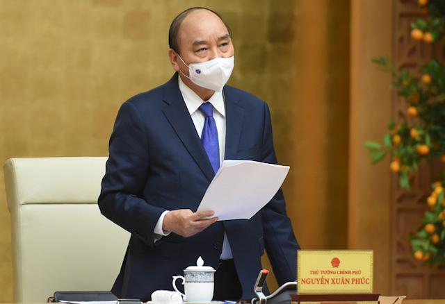 Thủ tướng vừa ban hành Chỉ thị 06/2021 về việc đôn đốc thực hiện nhiệm vụ sau kỳ nghỉ Tết Nguyên đán Tân Sửu.