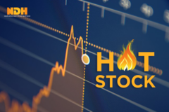 Một cổ phiếu tăng trần 4 phiên