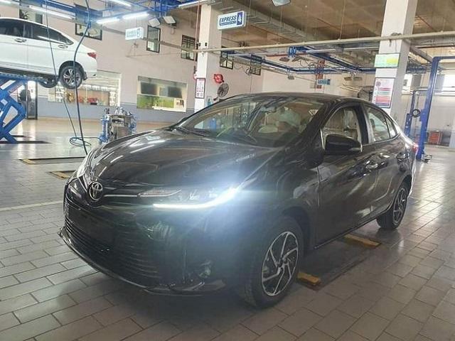 Toyota Vios 2021 xuất hiện tại Việt Nam