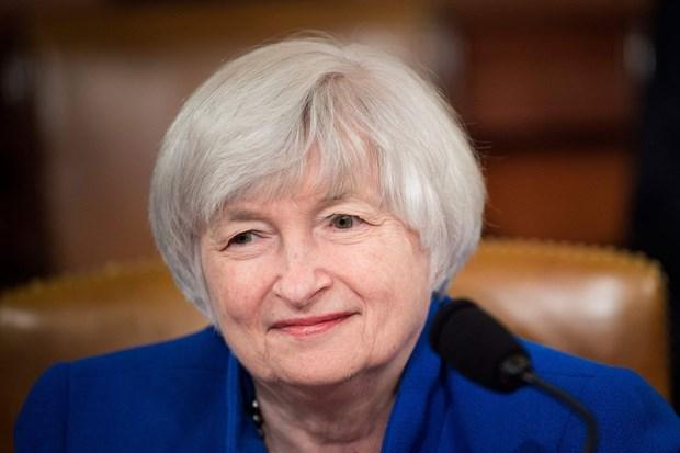 Bộ trưởng Tài chính Mỹ Janet Yellen. Ảnh: Getty images.