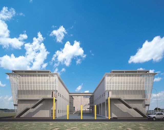 Phối cảnh dự án Trung tâm Nghiên cứu, phát triển và sản xuất Fujikin Đà Nẵng. Ảnh: Cổng TT Đà Nẵng.