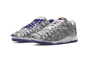 Nike ra mắt giày bọc giấy, 2 chiếc lộn ngược