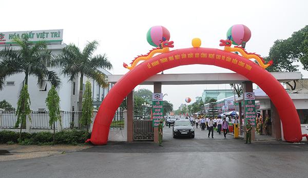 Cổ đông Hóa chất Việt Trì thông qua đầu tư hơn 200 tỷ xây nhà máy sản xuất chất khử trùng