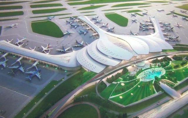 Vietnam Airlines muốn rót gần 10.000 tỷ đồng vào sân bay Long Thành.