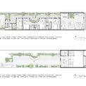 <p> Bản thiết kế mặt bằng ngôi nhà với các khu chức năng khác nhau.</p>
