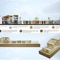 <p> Mô hình mô phỏng các không gian trong nhà.</p>