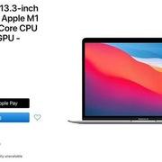 Apple bán MacBook Air M1 tân trang với giá từ 849 USD