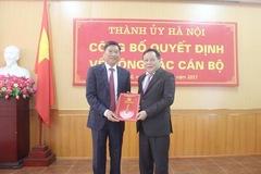 Hà Nội có tân Giám đốc Sở Kế hoạch & Đầu tư