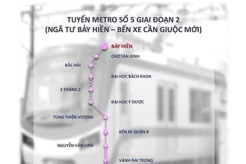 TP HCM: Metro số 5 giai đoạn 2 được nghiên cứu để tư nhân đầu tư