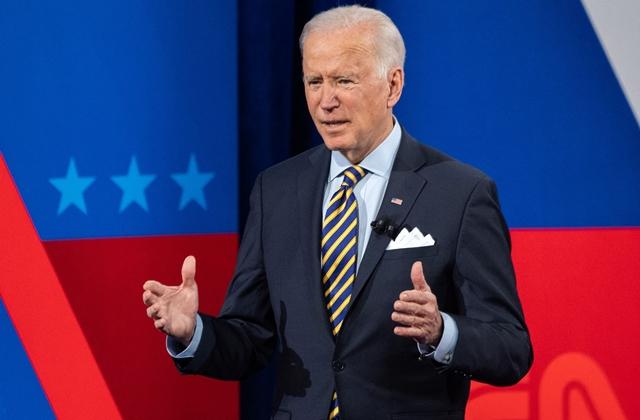 Tổng thống Mỹ Joe Biden phát biểu trong chuyến công du tại thành phố quê nhà Milwaukee, bang Wisconsin ngày 16/2/2021. (Ảnh: AFP/TTXVN)