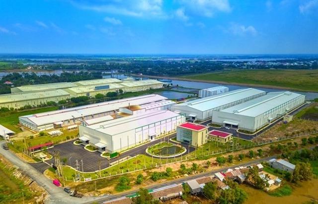 Trung tâm chế biến nông sản vốn đầu tư 350 tỷ đồng của Vinaseed tại Đồng Tháp. Ảnh: PAN Group.