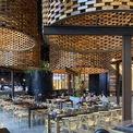 <p> Một trong những lợi thế của không gian là chiều cao trần nhà 5m giúp nâng cao thiết kế.</p>