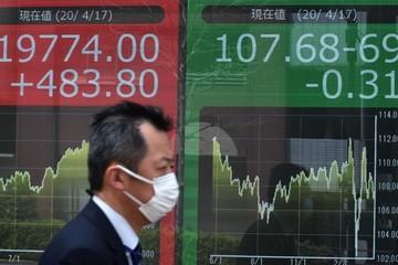 PMI dịch vụ Trung Quốc chững lại, chứng khoán châu Á trái chiều