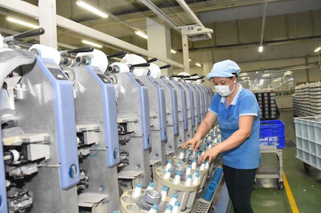 Ngành dệt may ngày càng được cải thiện nguồn cung nguyên liệu từ trong nước.