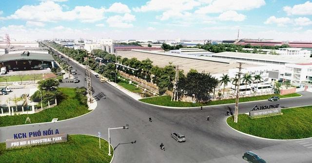 Hòa Phát được phê duyệt chủ trương mở rộng hơn 92 ha KCN Phố Nối A, Hưng Yên