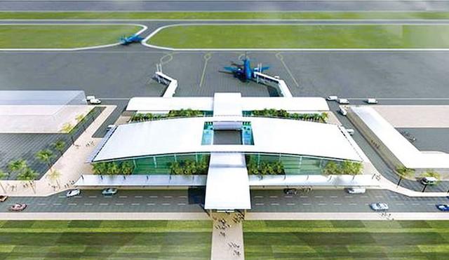 Quảng Trị muốn tự làm xây dựng sân bay theo hình thức PPP. Ảnh: Cổng TT Quảng Trị.