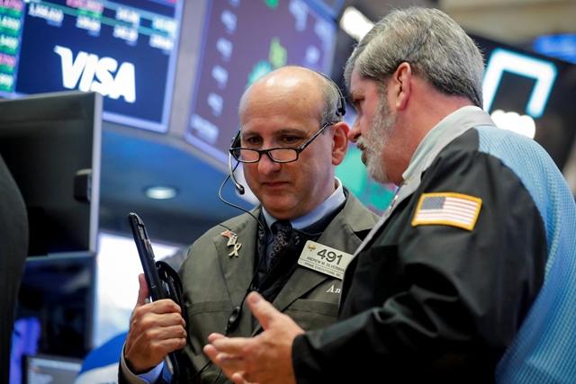 Phố Wall phục hồi sau phiên giao dịch biến động nhờ cổ phiếu công nghệ