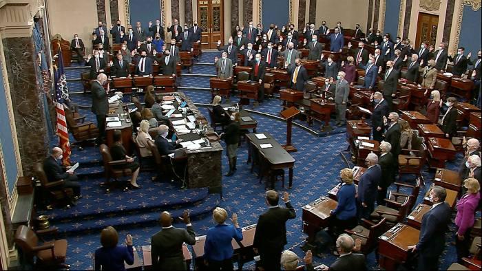 Thượng viện Mỹ thảo luận về gói kích thích trị giá 1.900 tỷ USD