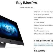 Apple ngừng sản xuất iMac Pro 2017