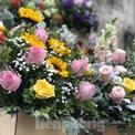 """<p class=""""Normal""""> Giá hoa được nhận định là cao hơn so với mọi năm. Theo các tiểu thương cho biết, giá các loại hoa tăng gấp đôi, riêng hoa hồng tăng gấp 4 - 5 lần so với ngày thường.</p>"""