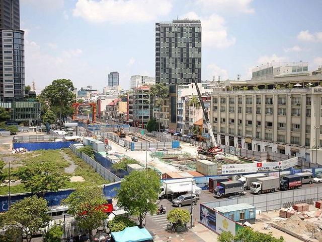 Trung tâm TP HCM sắp được giải phóng khỏi lô cốt tuyến metro số 1