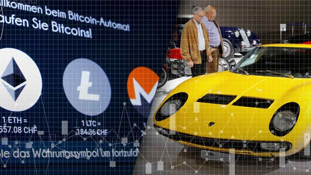 Speculative money is pouring into cryptocurrencies and auctions of luxury goods. (Source photo by Reuters)