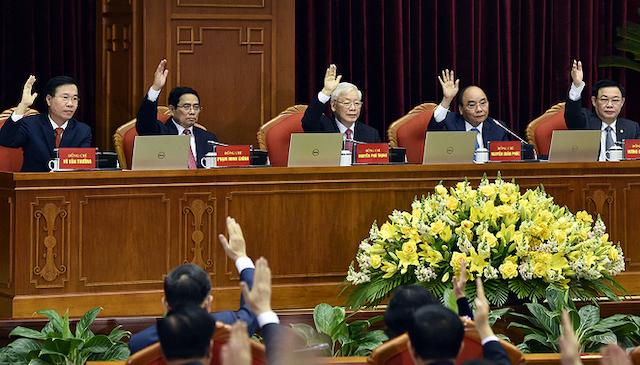 Trình Trung ương nhân sự ứng cử 3 chức danh lãnh đạo cao nhất của Nhà nước