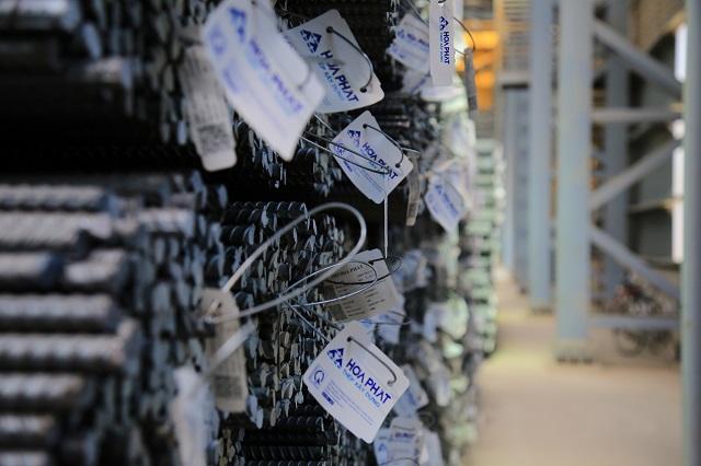 Vướng kỳ nghỉ Tết, sản lượng bán hàng thép Hòa Phát tháng 2 giảm