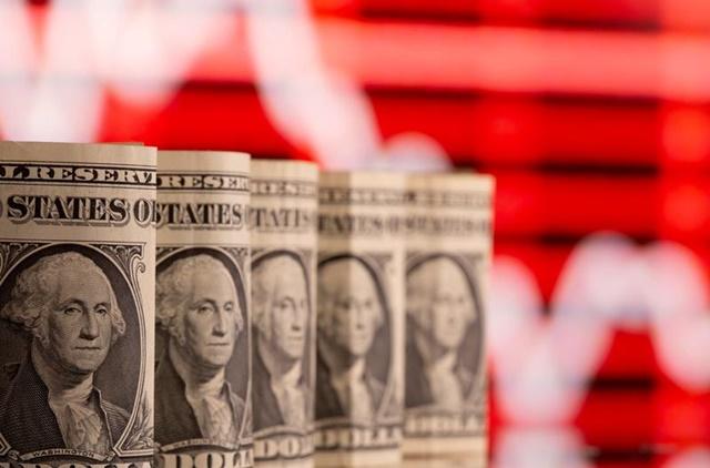 Khảo sát của Deutsche Bank cho thấy người dân Mỹ dành 37% mọi khoản tiền hỗ trợ họ nhận được vào cổ phiếu. Ảnh: Reuters.