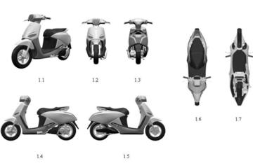Lộ diện mẫu xe máy điện sắp tới của VinFast?