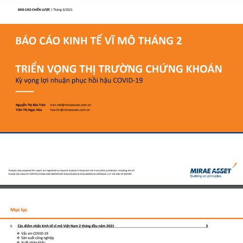 MASVN: Báo cáo chiến lược tháng 3/2021