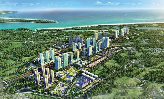 DIC Corp vay Sacombank 1.900 tỷ đồng đầu tư dự án khu đô thị mới Bắc Vũng Tàu