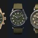 <p> Các mẫu đồng hồ lấy cảm hứng từ quân đội được phái mạnh ưa chuộng bởi kiểu dáng mạnh mẽ, màu sắc nam tính. Bên cạnh đó, phom dáng cùng kích thước mặt số của các thiết kế dưới đây có thể kết hợp với đa dạng phong cách. Ảnh: <em>Rob Report.</em></p>